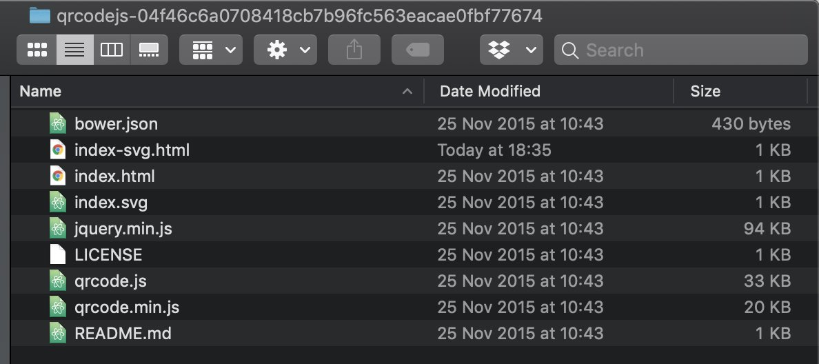 Viewing the directory in Finder