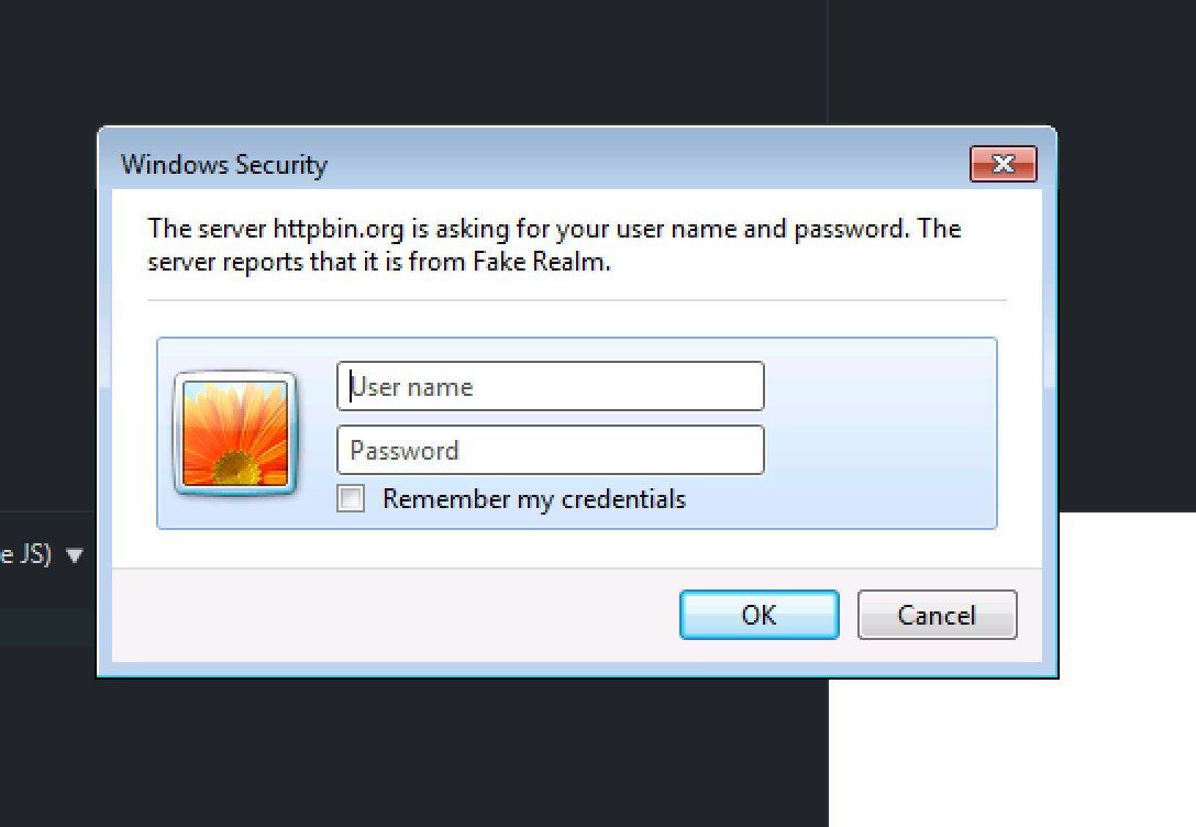 IE11 displaying a native dialog