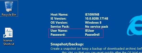 Screenshot of the Windows desktop